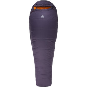 Mountain Equipment Starlight I Sac de couchage Long, aubergine/blaze